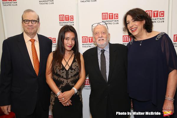 Barry Grove, Kumiko Yoshii, Hal Prince and Lynne Meadow