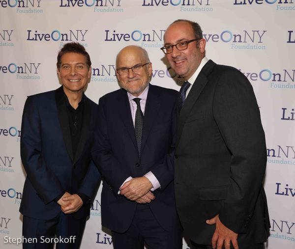 Michael Feinstein, Lee Perlman, Sandy Florman Photo