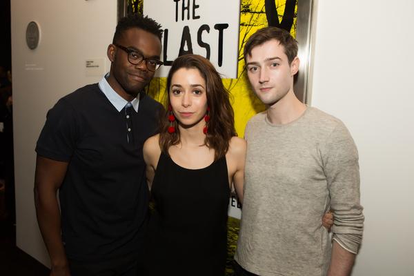 William Jackson Harper, Cristin Milioti and Will Connolly Photo