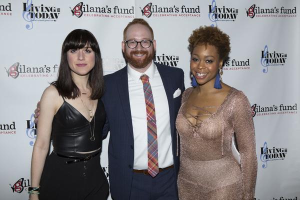 Lena Hall, David Alpert and Tamika Lawrence