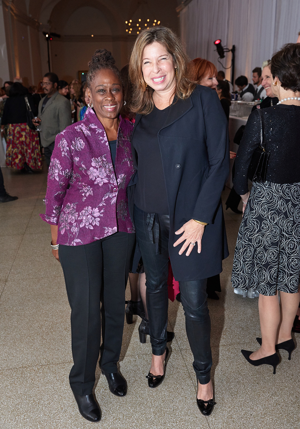 Chirlaine McCray and Anne Pasternak Photo