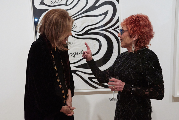 Gloria Steinem and Judy Chicago Photo