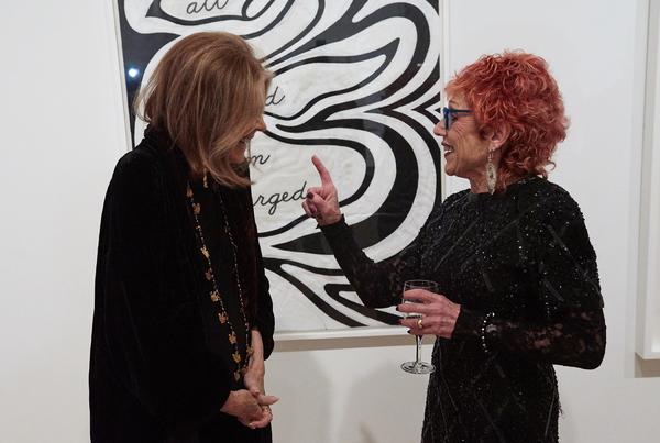 Gloria Steinem and Judy Chicago