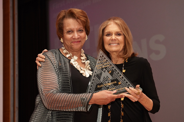 Carol Jenkins and Gloria Steinem Photo