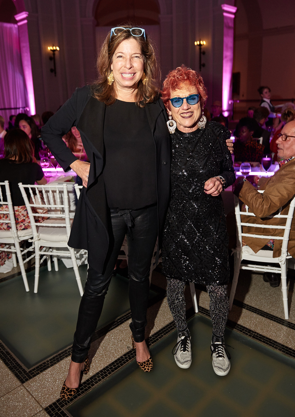 Anne Pasternak and Judy Chicago  Photo