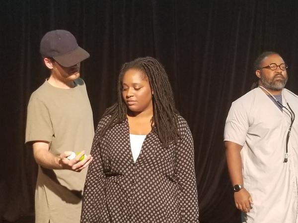 Seth Cunningham, Caprice Carter and Whitney Zangarine Photo