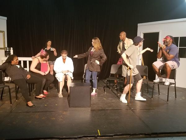 Caprice Carter, Kelsey Finstad, Cheramie Hopper, Patrick Barton, Whitney Zangarine, A Photo