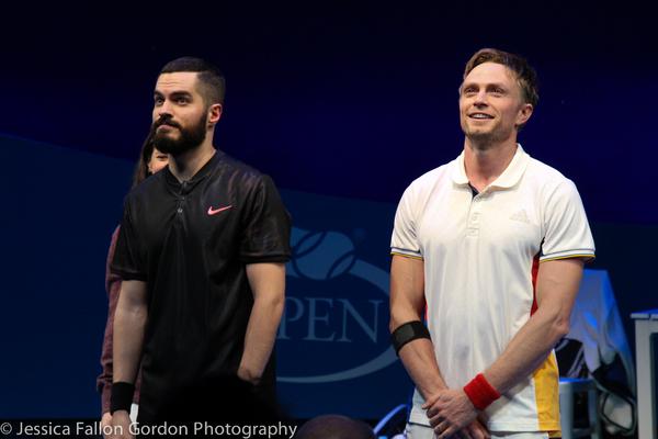Alex Mickiewicz and Wilson Bethel