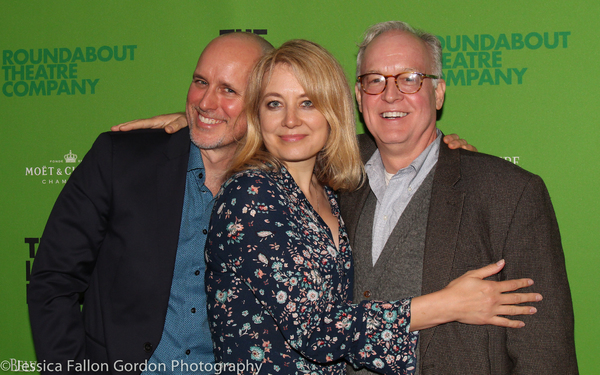 Kelly AuCoin, Jennifer Mudge and Reed Birney