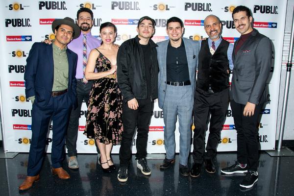 Reza Salazar, Juan Francisco Villa, Sandra Delgado, Juan Castano, Brian Quijada, Juli Photo