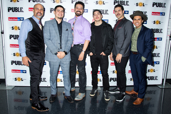 Julio Monge, Brian Quijada, Juan Francisco Villa, Juan Castano, Joel Perez, Reza Sala Photo