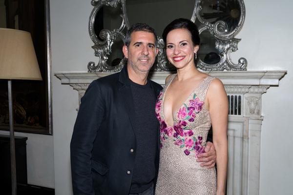 Mandy Gonzalez with enigmatic, Husband Douglas Melini