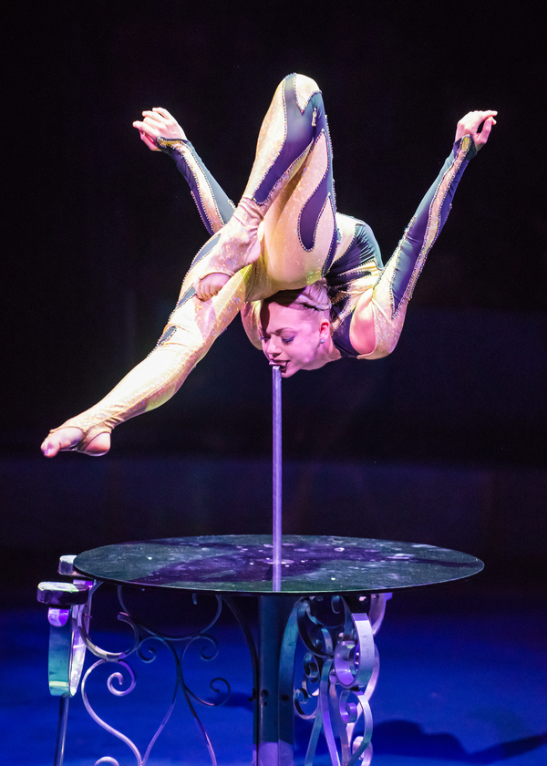 Photo Flash: First Look - BIG APPLE CIRCUS Returns with Death-Defying Acrobatics, Clowns, Rollerskates and More!
