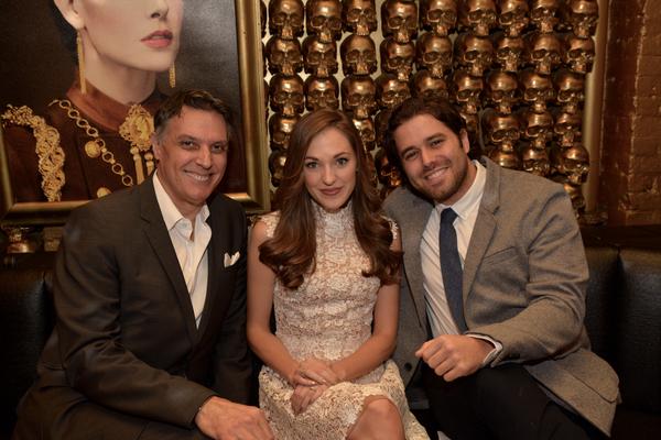 Robert Cuccioli, Laura Osnes and Josh Young