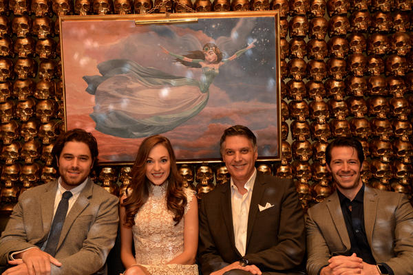 Josh Young, Laura Osnes, Robert Cuccioli and Stephen Cerf