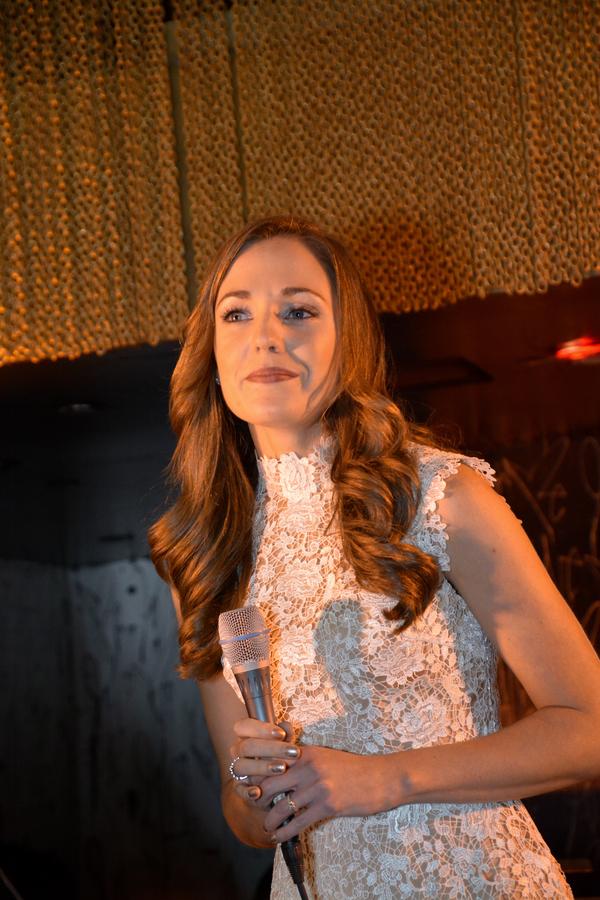 Photo Coverage: Laura Osnes, Robert Cuccioli, and More Celebrate Release of ANGELS Studio Cast Recording