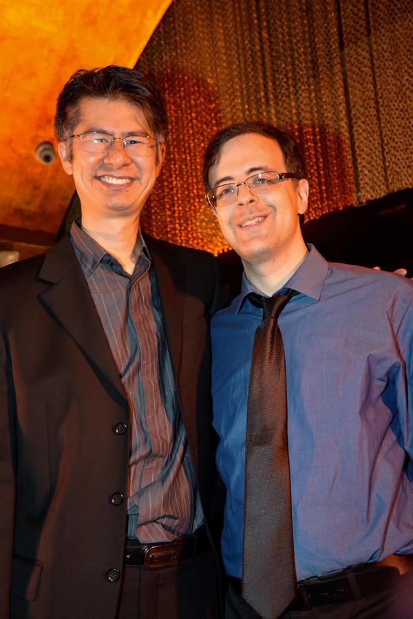 Marcus Cheong and Van Dean