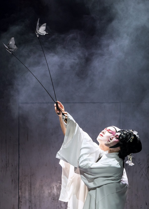 M. Butterfly Production Photo