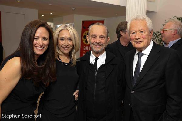 Caroline Sorokoff, Eda Sorokoff, Joel Grey, Stephen Sorokoff
