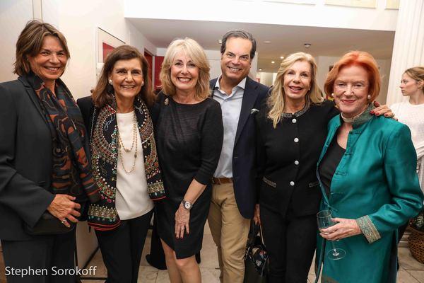 Dorianne Samuels, Nazan Joffire, Regina Gill, Glaise LaBriola, Princess Yasmin Aga Kahn, Edwina Sandys