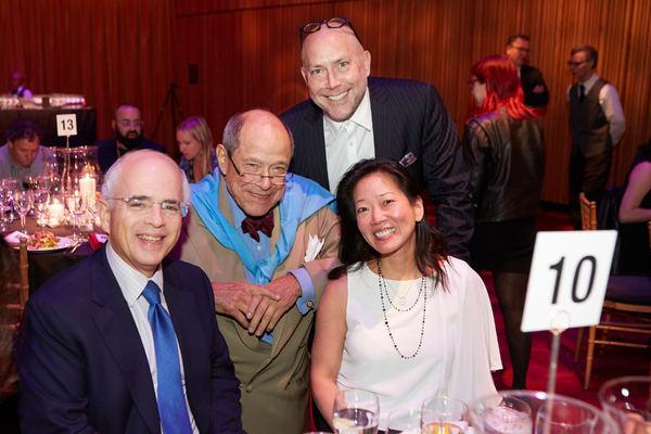 Anthony Shorris, Gordon Davis, Patrick Willingham and Teresa Tsai