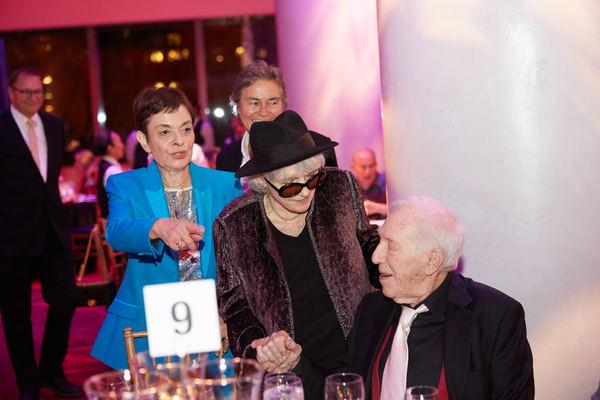 Cora Cahan, Gail Papp, and Bernard Gersten