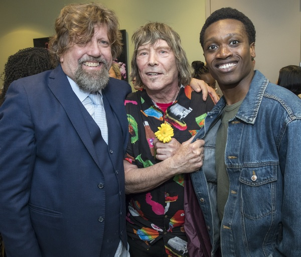Oskar Eustis, James Rado, and Ato Blankson-Wood