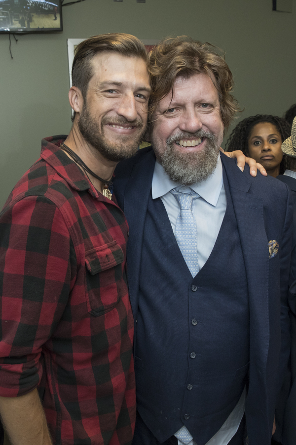 Bryce Ryness and Oskar Eustis Photo