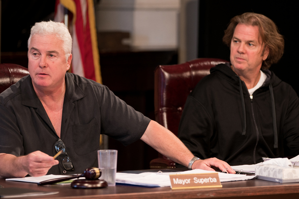 William Petersen and Kevin Anderson