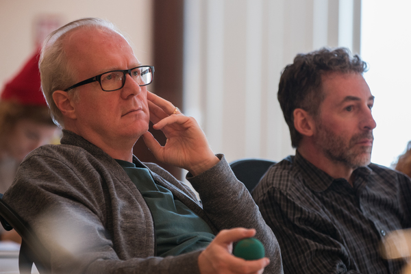 Tracy Letts and Ed Sobel