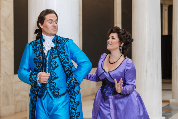 Count (Christian Bowers) and Countess Almaviva (Danielle Pastin) Photo