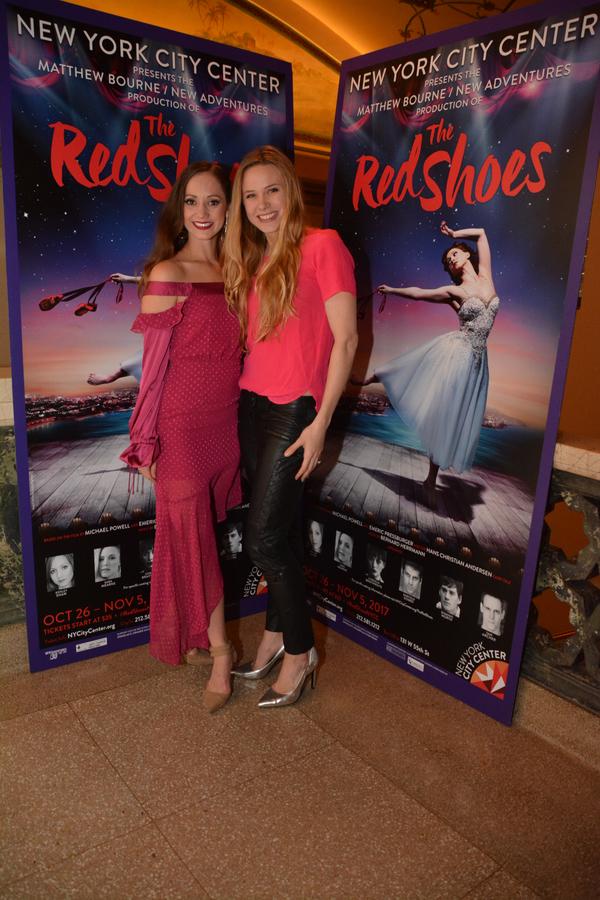 Ashley Shaw and Sara Mearns Photo