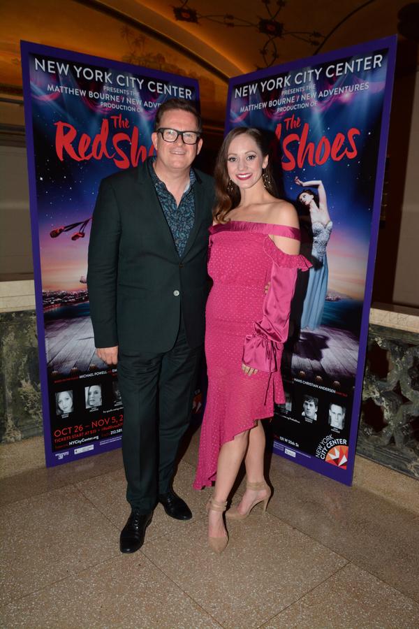Matthew Bourne and Ashley Shaw