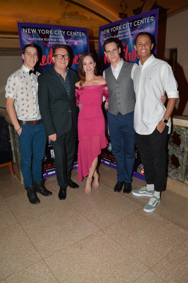 Dominic North, Matthew Bourne, Ashley Shaw, Sam Archer and Glenn Graham