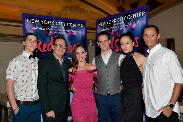 Dominic North, Matthew Bourne, Ashley Shaw, Sam Archer, Michela Meazza and Glenn Graham