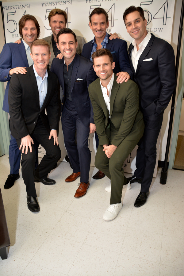 John Cudia, Jeff Kready, Brent Barrett, Max von Essen, Sean McDermott, Kyle Dean Mass Photo