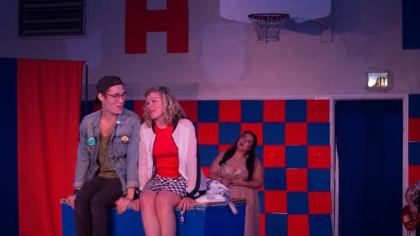 Kaleb Van Rijswijck, Mary-Margaret Roberts, and Gina Francesca Photo
