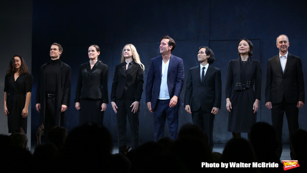 Jess Fry, Murray Bartlett, Enid Graham, Clea Alsip, Clive Owen, Jin Ha, Celeste Den and Michael Countryman