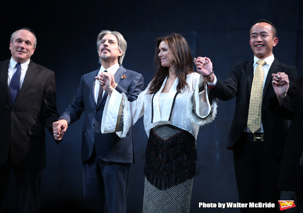 Donald Holder, Elliot Goldenthal, Julie Taymor and Ma Cong Photo