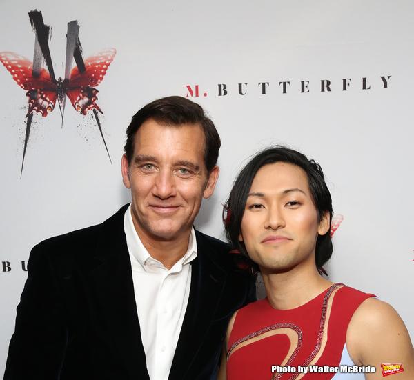 Clive Owen and Jin Ha Photo