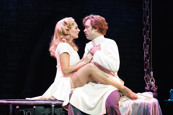 Hadley Fraser and Summer Strallen Photo