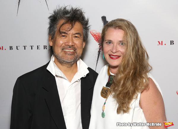 David Henry Hwang and Kathryn Layng