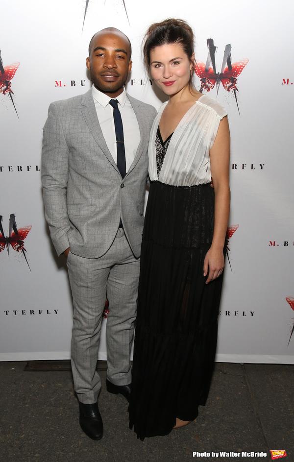 Austin Smith and Phillipa Soo