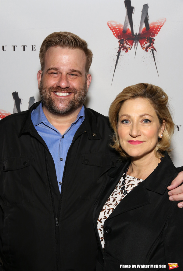 Stephen Wallem and Edie Falco