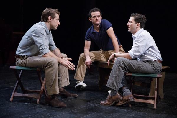 Fran Kranz, Will Brill, and John Magaro