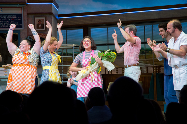 Jenna takes her first bow in WAITRESS