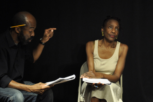 Photo Flash: Inside Rehearsal for Kate Gill's SOUNDVIEW SUMMER at Theaterlab