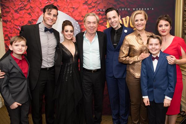 Photo Flash: Andrew Lloyd Webber and Glenn Slater Visit LOVE NEVER DIES Opening in Detroit