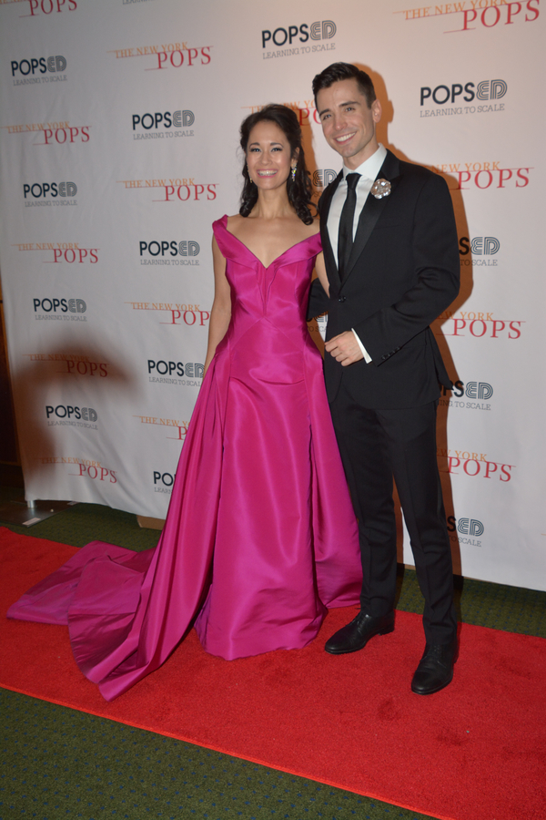 Photo Coverage: Matt Doyle and Ali Ewoldt Join The New York Pops for THAT'S ENTERTAINMENT: FROM SKITCH TO STEVEN