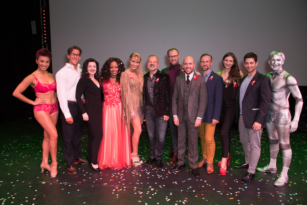 Oliver Savile, Dianne Pilkington, Marisha Wallace, Clinde Schoenmaker, Graham Norton, Photo